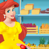 play Ariel Cooking Burger