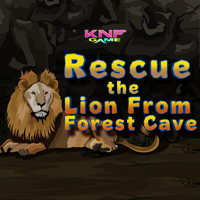 play Rescue The Lion From Forest Escape