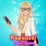 Rapunzel School Fashion game