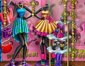 Fashion Boutique Window game
