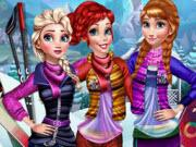 Princesses Visit Arendelle game