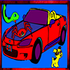 Kids Car Coloring game