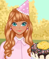 play My Birthday Cake Dress Up Game