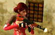 Lady Shooter game