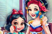 Snow White Mommy Real Makeover Girl game