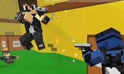 Blocky Combat Swat game