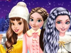 play Princesses Go Ice Skating