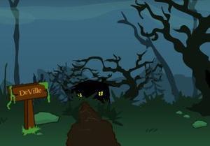 play Creepy Swamp Escape