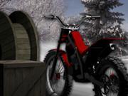 Bike Trial Snow Ride game
