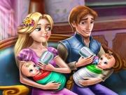 Rapunzel Twins Family Day game