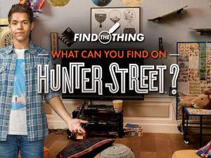 Hunter Street: What Can You Find On Hunter Street? Puzzle game