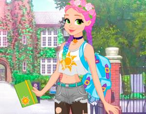 Rapunzel Fashionista On The Go game