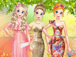 Princess Spring Model Challenge game