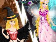 Rapunzel Devil And Angel Dress game