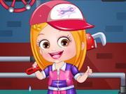 Baby Hazel Plumber Dressup game