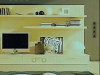 Cute Green House Escape game