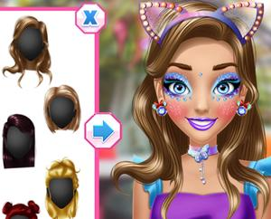 Birthday Party Perfect Make Up game