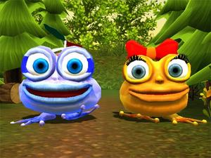 Froggie Jump game