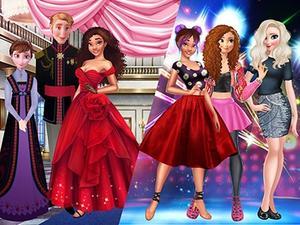 Princess Secret Life Dress Up game