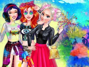 Princesses Three Spring Festivals game