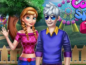 Couple Spring Trends Dress Up game
