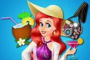 play Ariel Caribbean Cruise Girl