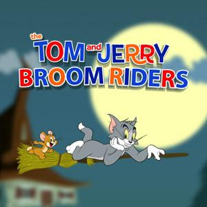 Tom And Jerry Broom Riders game