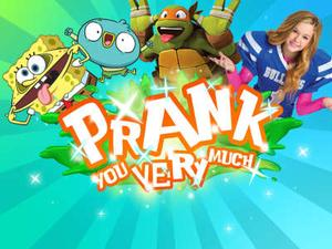 Nickelodeon: Prank You Very Much Funny game