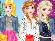 Princesses Spring Fashion game