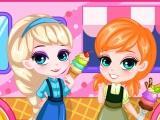 Frozen Ice Cream Truck game