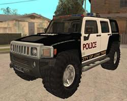 Hummer Police Puzzle game
