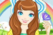 play Flower Girl Make Up