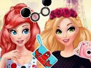 Princesses Bffs In Paris game
