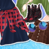 Elsa And Moana Biker Boots game