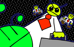 Buggy And The Swarm Of Evil Business Men game