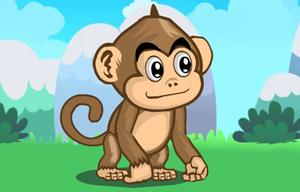 Monkey Gravity Adventure game