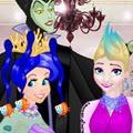 Princess April Fools Hair Salon game
