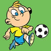 Soccer Boy Coloring game