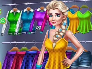 Princess Spring Closet game