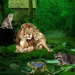 Wild Animals Forest Escape game