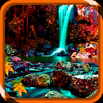 Zoozoo Escape Waterfalls game