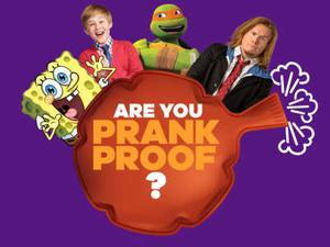 Nickelodeon: Are You Prank Proof? Quiz game