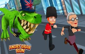 Play Angry Gran Run London Game