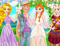 play Anna Hipster Wedding Rush