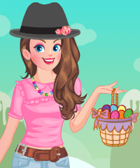 play Easter Candy Land Dress Up Game
