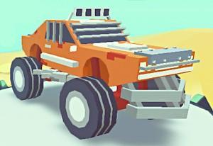 play 3D Monster Truck Skyroads