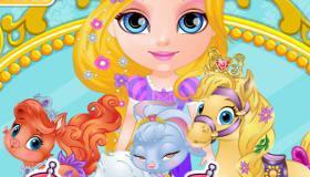 play Disney Palace Pets Baby Barbie