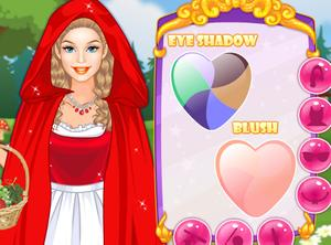 play Barbie Red Riding Hood