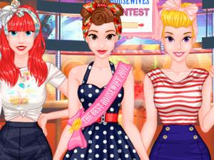 play Princesses Housewives Contest