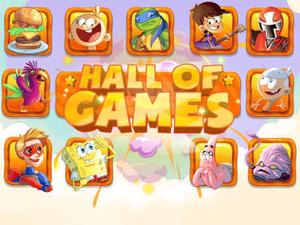 Nickelodeon: Hall Of Games Action game